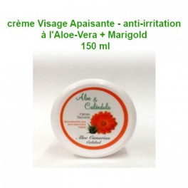 Aloe Vera + Marigold Cream (Soothing - Anti-Irritating) 150 ml