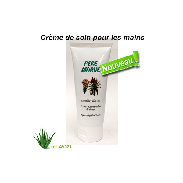 creme soin pour les mains aloe vera 100ml permatan. Black Bedroom Furniture Sets. Home Design Ideas