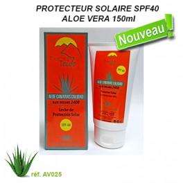 PROTECTEUR SOLAIRE SPF40 ALOE VERA 150ml