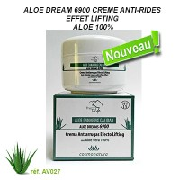 ALOE DREAMS 6900 - 100% ALOE ANTI WRINKLE CREAM WITH LIFTING EFFECT