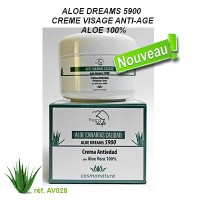 ALOE DREAMS 5900 - 100% ALOE ANTI-AGING FACIAL CREAM