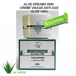 ALOE DREAMS 5900  CREME VISAGE ANTI-AGE ALOE 100%