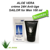 crème 24H Anti-âge SAILOR for Men 100 ml