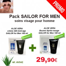 Pack Sailor For Men -soins du visage